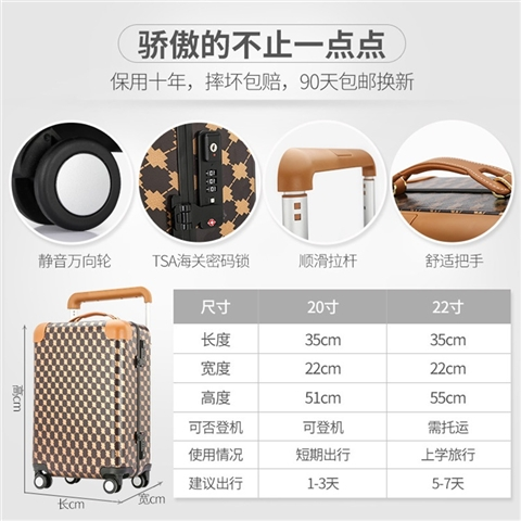 20-INCH SUITCASE - CY194051