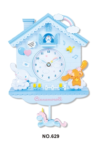 CREATIVE HOUSE CARTOON BIG EAR DOG WAGGING CLOCK - CY263774