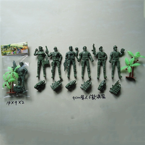 MILITARY TOYS/6 9CM - CY333936
