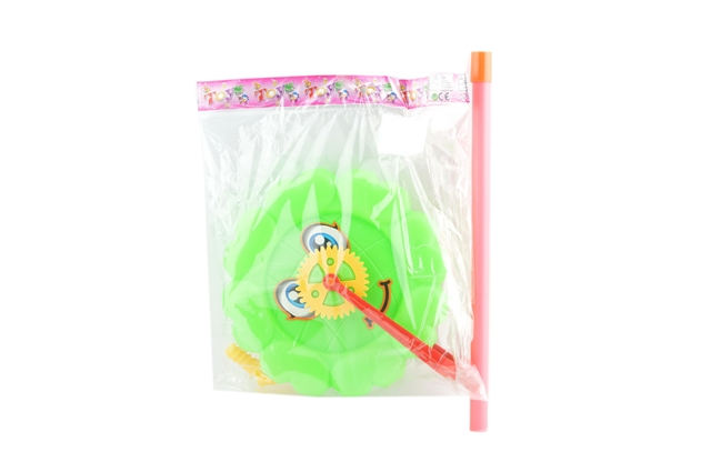 FLOWER TYPE SINGLE TUBE HAND PUSH BIG WHEEL - CY350865