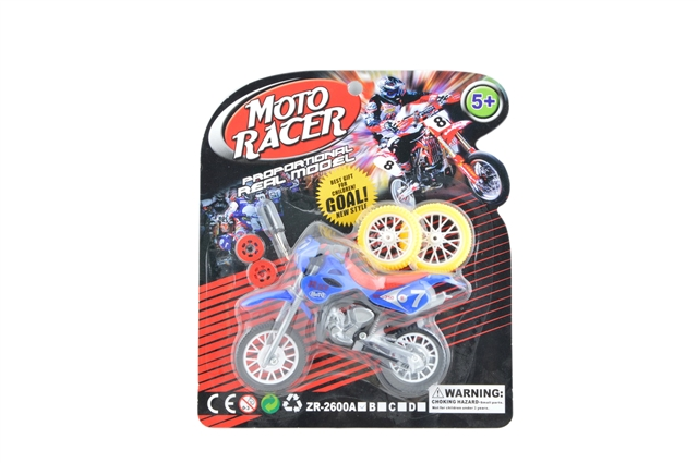 Finger motorcycle with wheels - CY367534