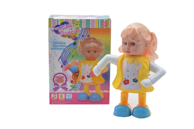 LIGHT MUSIC, ELECTRIC DANCE, BOBBI DOLL, RED, BLUE, YELLOW AND THREE COLORS MIXED. - CY371344