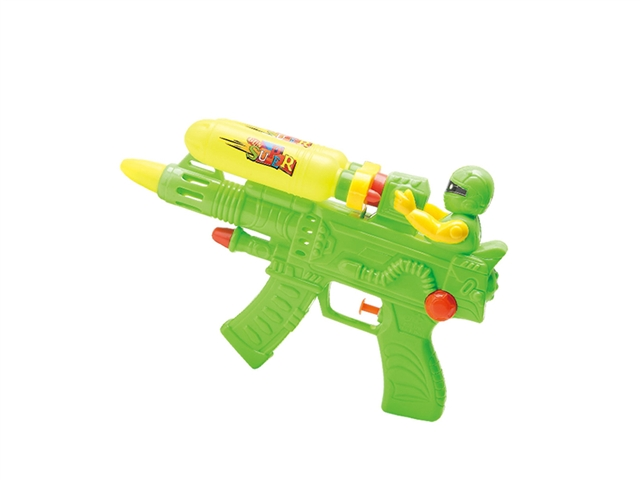 Water gun \/ two bottles green, yellow and red - CY372248