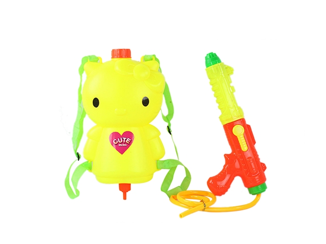 KT cat backpack water gun yellow - CY372386