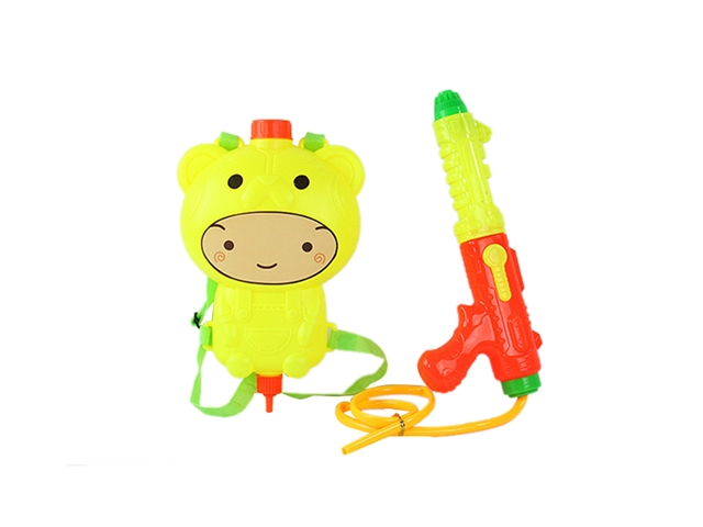 Cartoon Bear backpack water gun yellow - CY372470