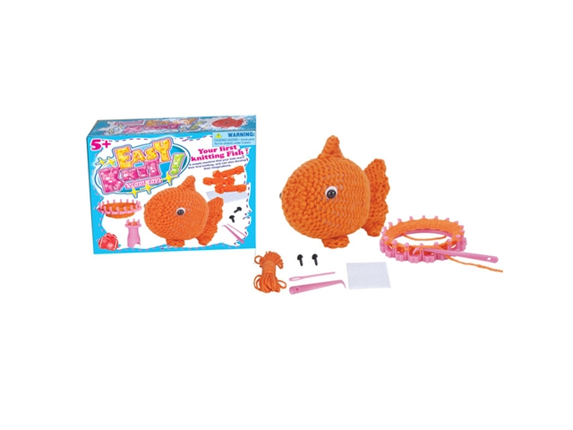 DIY knitting goldfish weaving music - CY385027