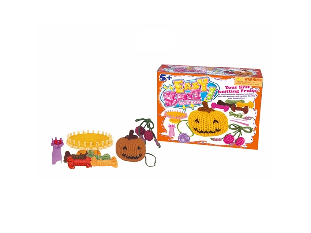 DIY knitting pumpkin cherry weaving music - CY385421