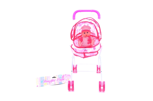 Baby carriage with doll - CY387914
