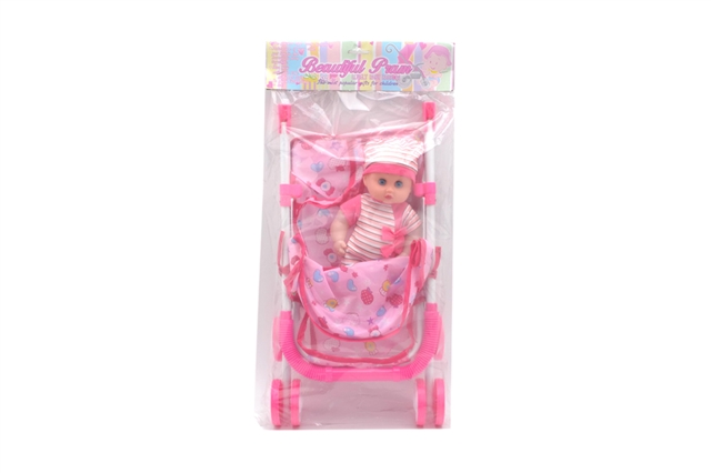 Baby carriage with doll - CY387943