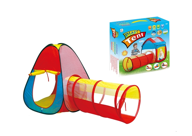 Two in one children's tent combined tunnel climbing tube - CY388745