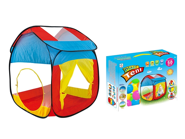 Children's Playhouse with ocean ball 50pcs - CY388809