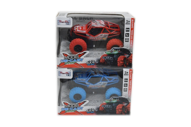 1:28 a high speed return alloy car with light music - CY390265