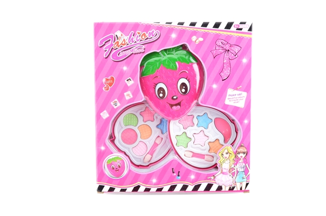 Turn cover strawberry two-storey cosmetics - CY390523