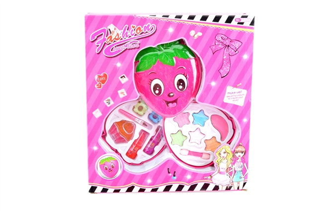 Turn cover strawberry two-storey cosmetics - CY390599