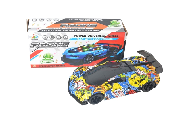 ELECTRIC 3D LIGHTING GRAFFITI BUGATTI - CY699912